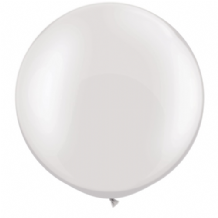 3ft Giant Balloons - Pearl White Latex Balloon 1pc